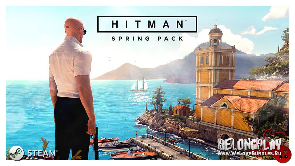 hitman spring pack game art logo