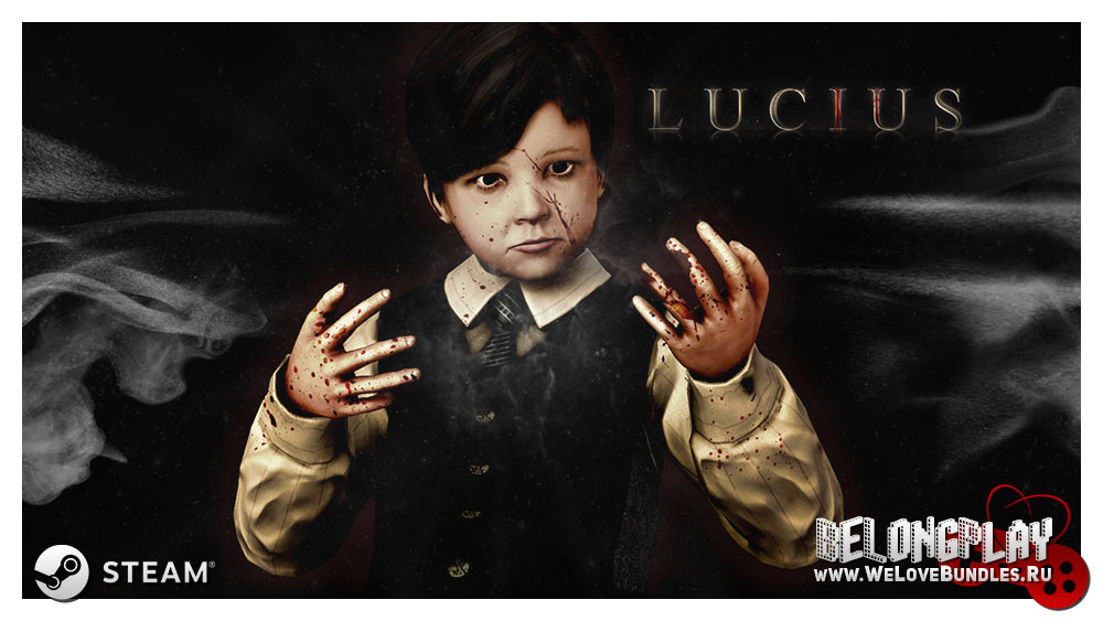 Lucius game art logo