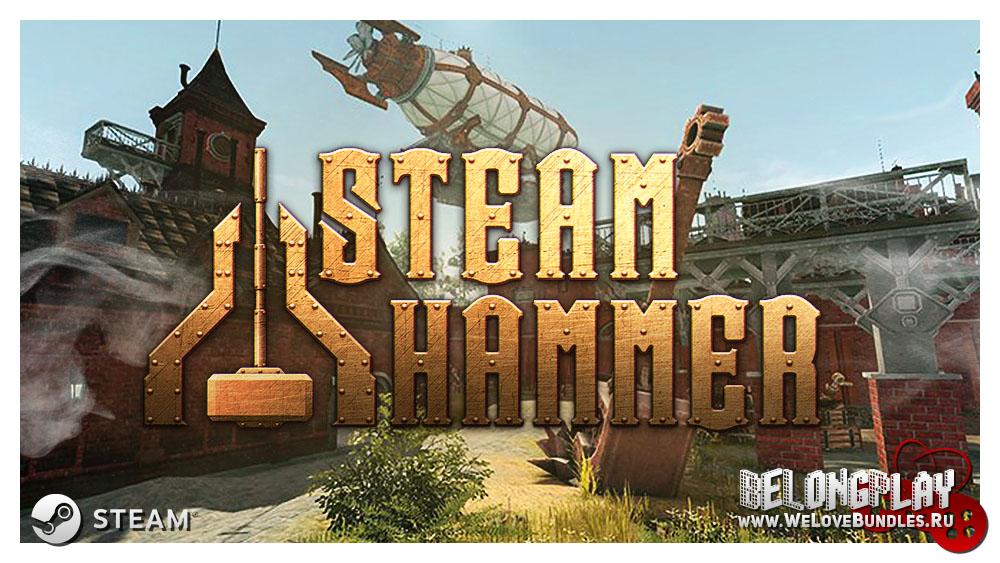STEAM HAMMER game art logo wallpaepr
