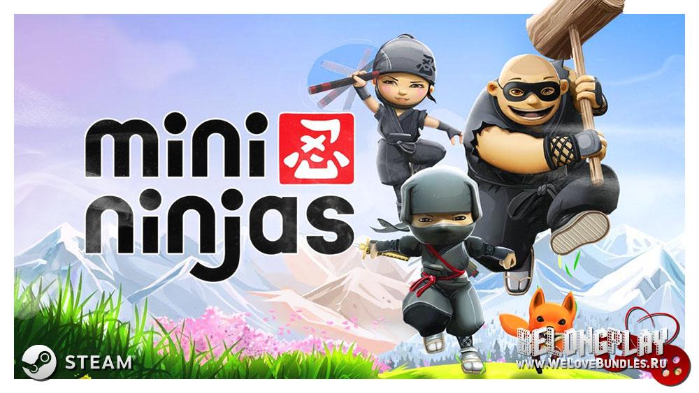 mini ninjas game art logo