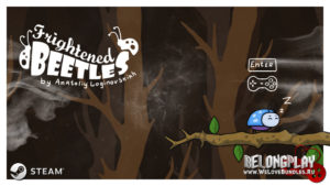 Игра Frightened Beetles: бесплатное приключение на пару минут