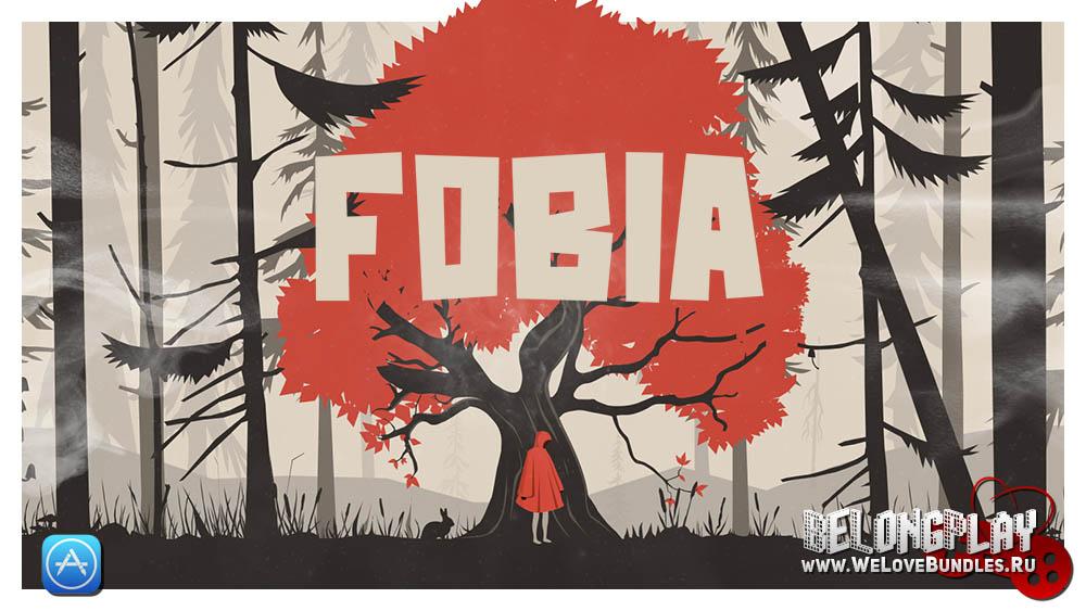 Fobia game art logo wallpaper