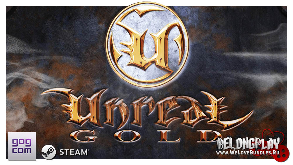 UNREAL (Gold Edition) game wallpaper art cover logo