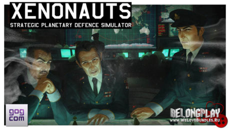 Xenonauts game art logo wallpaper