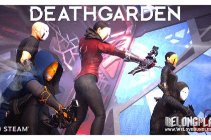 Deathgarden game art logo