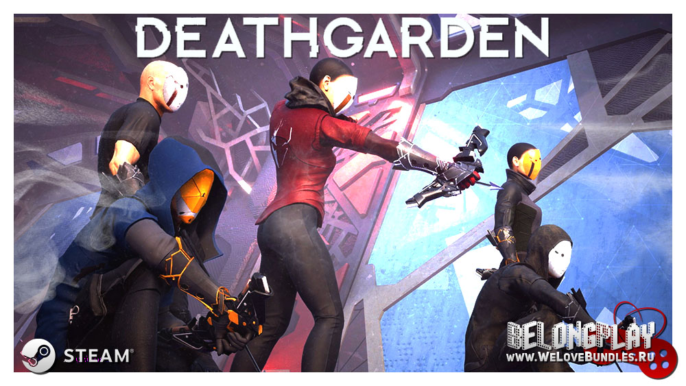 Deathgarden game art logo