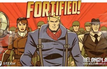 Fortified game art logo
