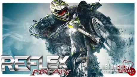 MX vs. ATV: Reflex logo art wallpaper game