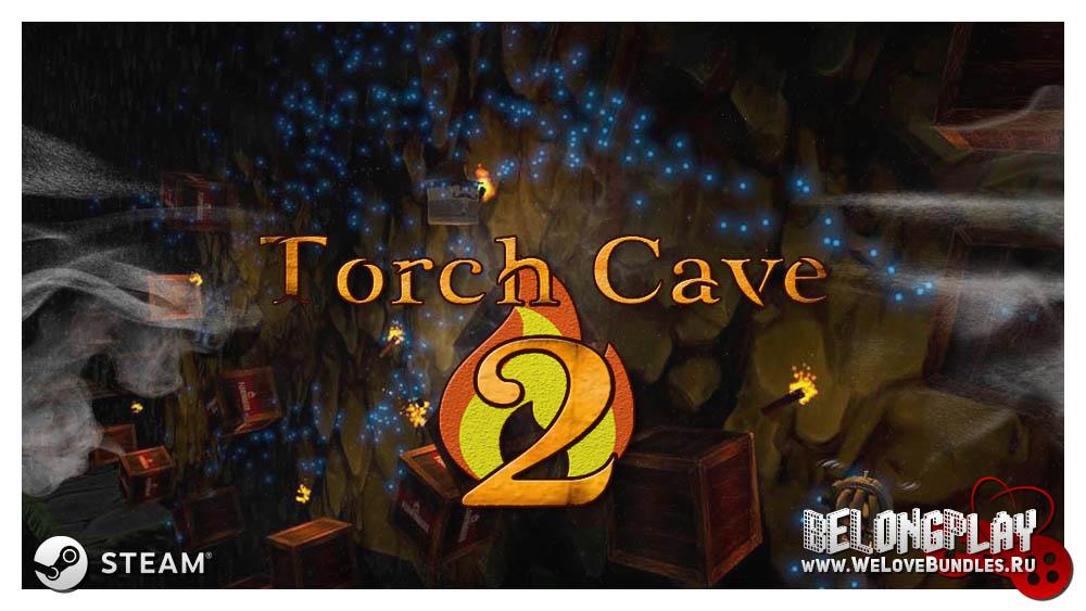 TORCH CAVE 2 art logo wallpaper
