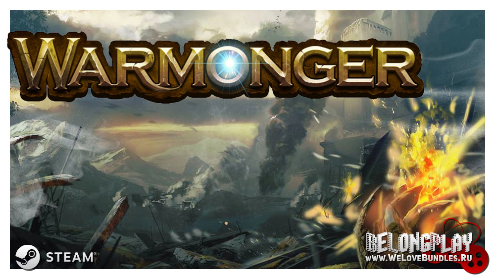 Warmonger game steam logo art