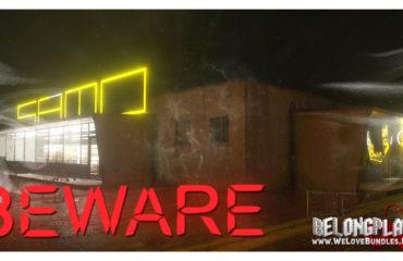 Game BEWARE logo art horror steam