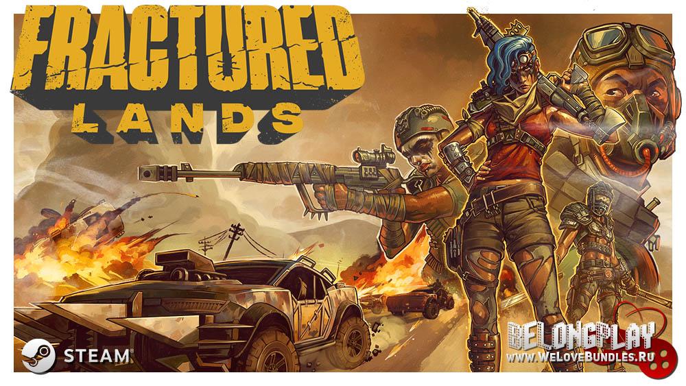 Fractured Lands game art logo wallpaper