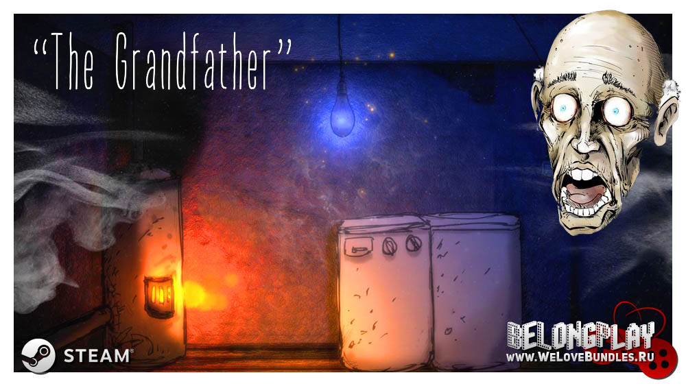 The Grandfather game logo art wallpaper