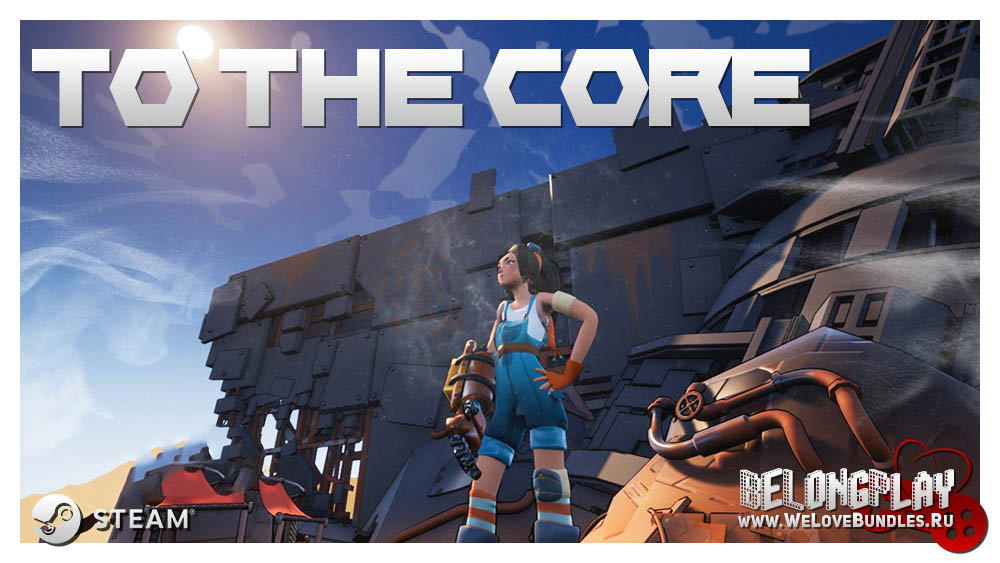 To the Core game steam art