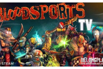 Bloodsports.TV game art logo