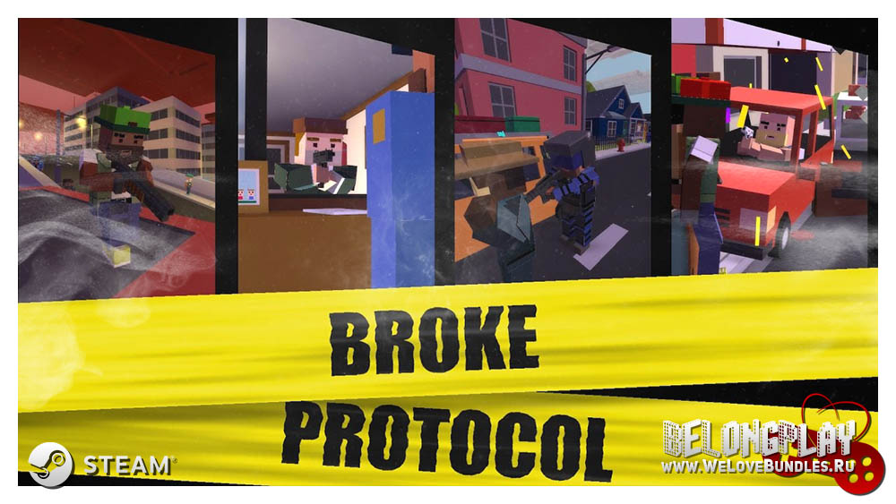 BROKE PROTOCOL: Online City RPG