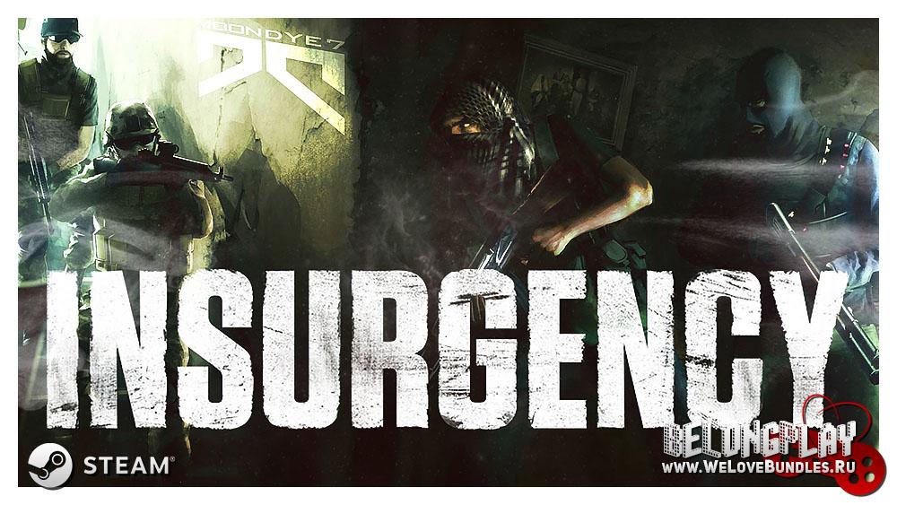 Insurgency art game logo wallpaper