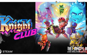 Knight Club game art logo