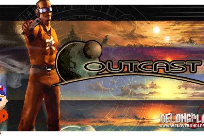 Outcast game art logo wallpaper 1999