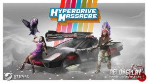 Раздача игры Hyperdrive Massacre в Steam