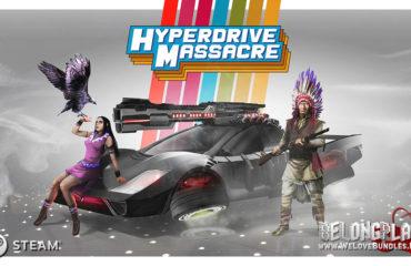 Hyperdrive Massacre art logo wallpaper