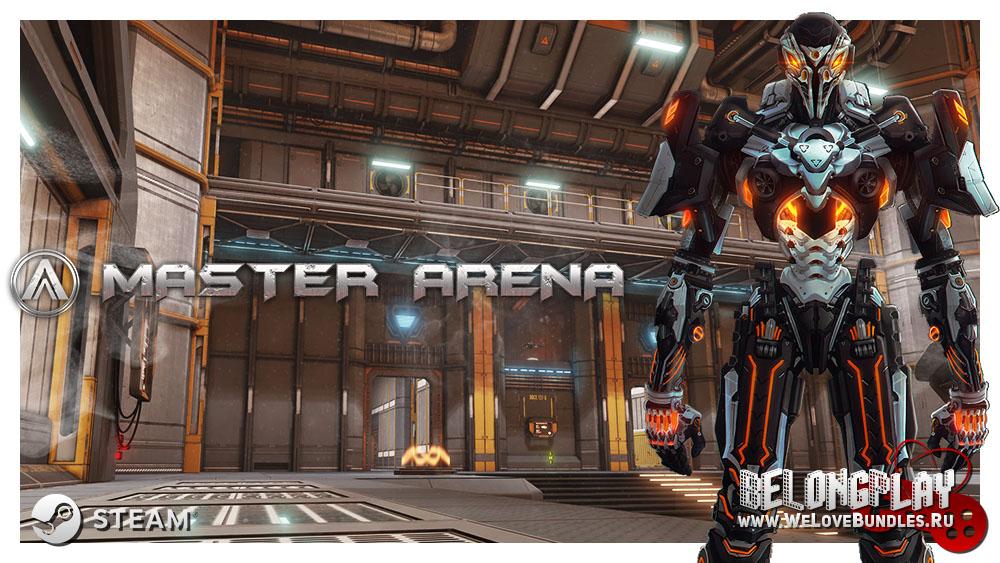 Master Arena logo game art