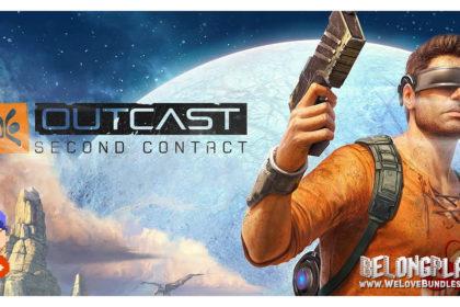 Outcast: Second Contact logo art wallpaper