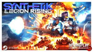 Для игры SYNTHETIK вышло бесплатное дополнение Legion Rising