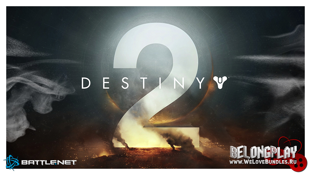 Destiny 2 logo game art