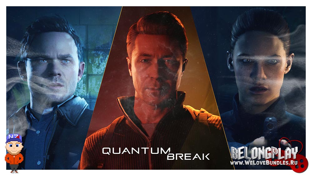 QUANTUM BREAK art game logo