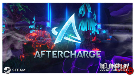 Aftercharge game logo art wallpaper