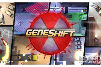 Geneshift game logo art wallpaper