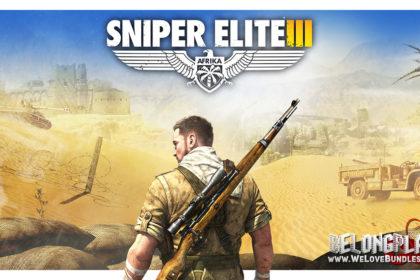 Sniper Elite 3 logo art wallpaper