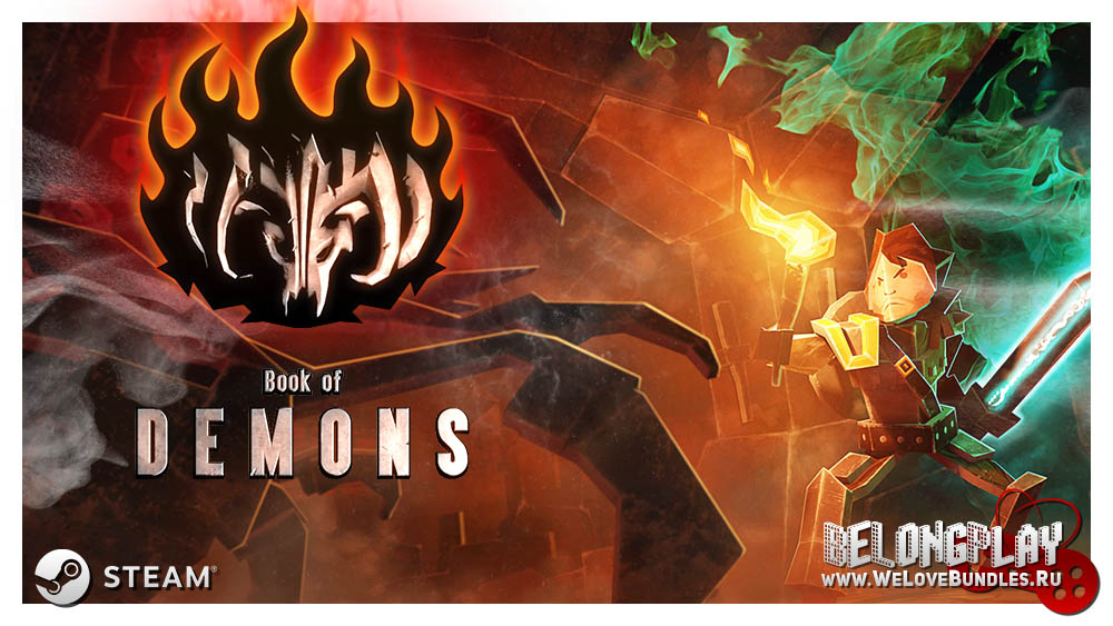 Book of Demons logo game art wallpaper