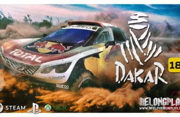 Dakar 18 wallpaper art logo