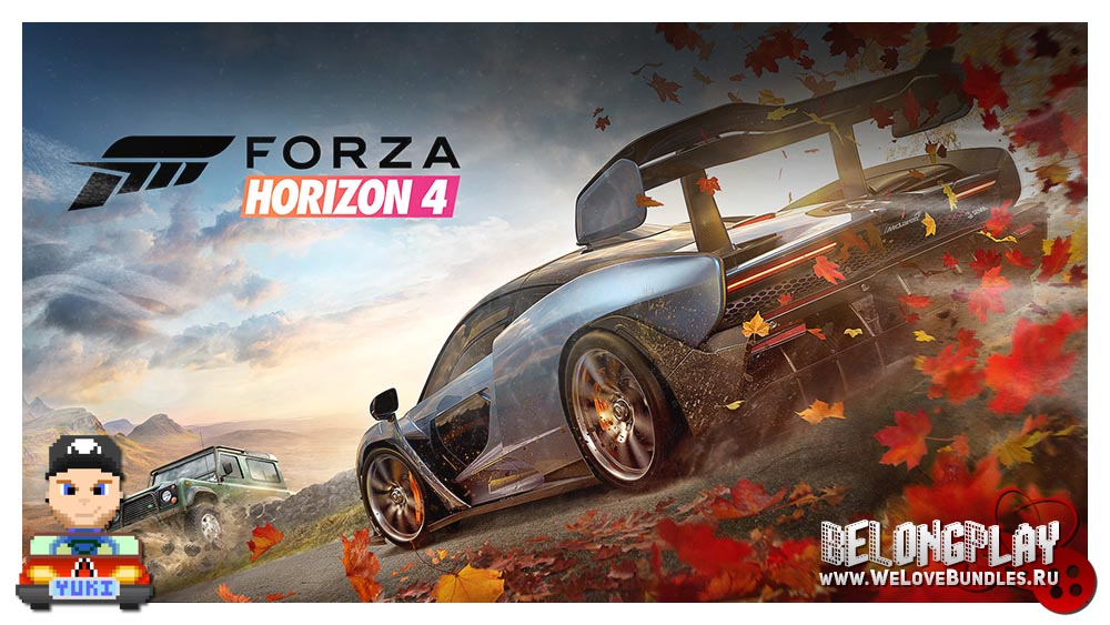 FORZA HORIZON 4 wallpaper art logo