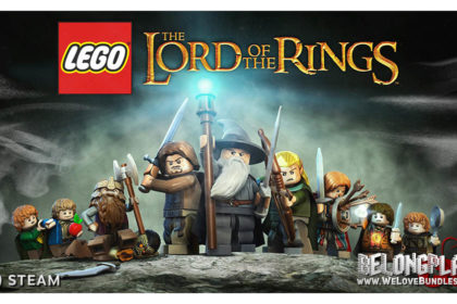 LEGO Lord of the Rings game art logo wallpaper