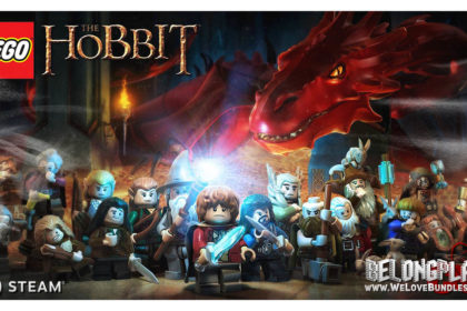 LEGO The Hobbit art logo wallpaper