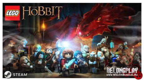LEGO The Hobbit art logo wallpaper
