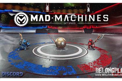 MAD MACHINES game logo art