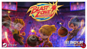 Игра Blast Zone! Tournament раздаётся в Steam
