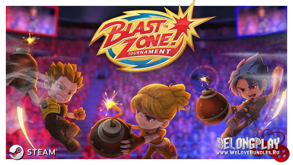 Blast Zone! Tournament logo art game wallpaper