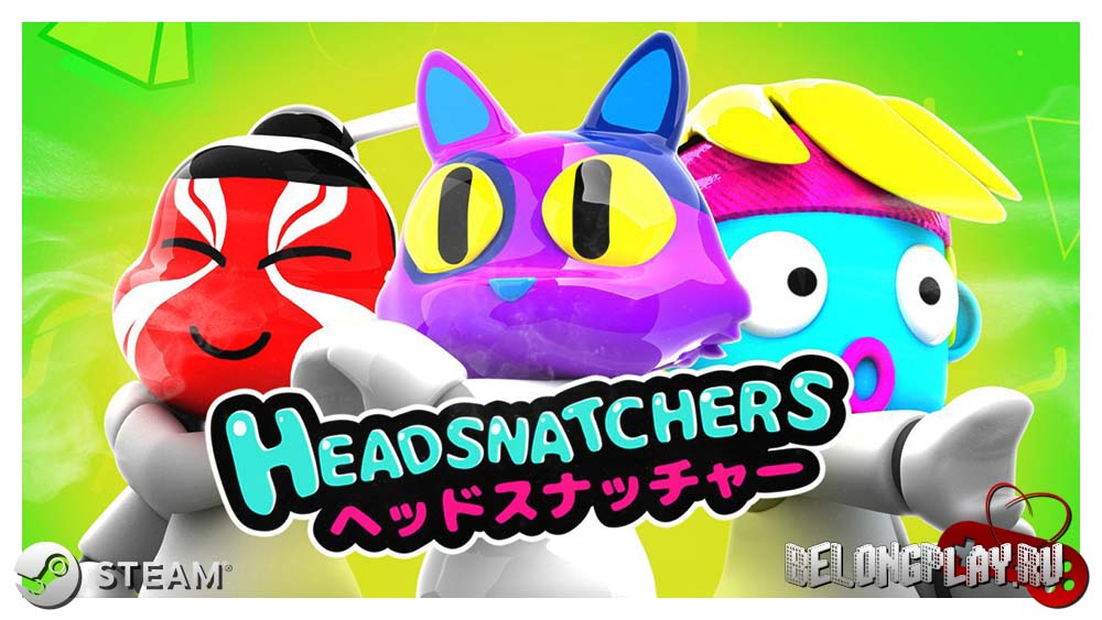 Headsnatchers game art logo wallpaper