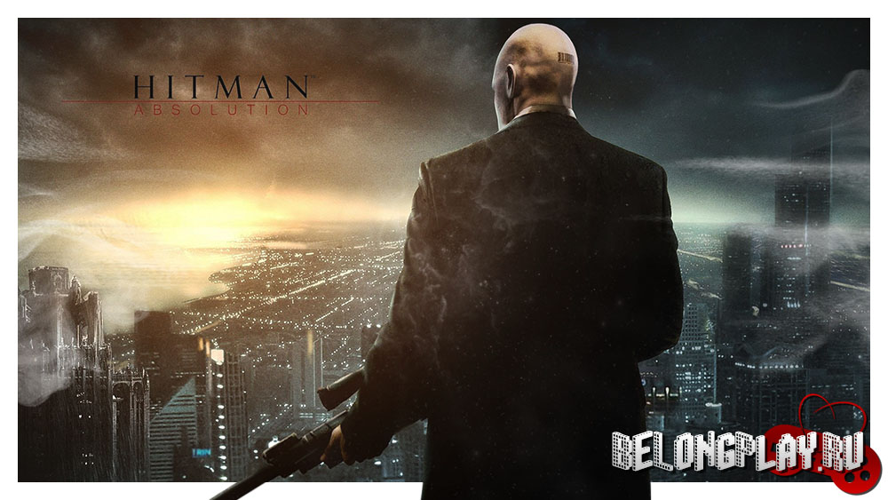 HITMAN: ABSOLUTION wallpaper logo game
