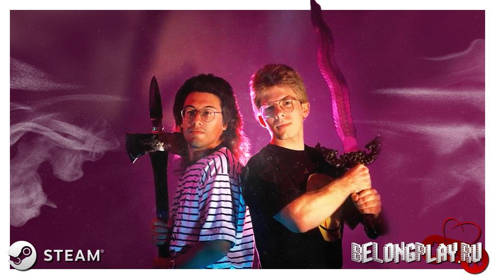 John Carmack and John Romero