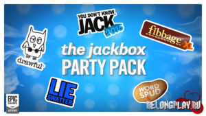 Раздача игры The Jackbox Party Pack в EGS