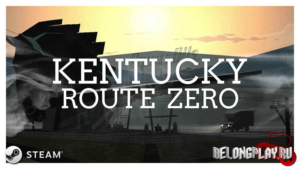 Kentucky Route Zero logo game art wallpaper