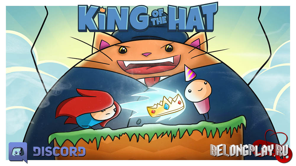 King of the Hat wallpaper logo game art