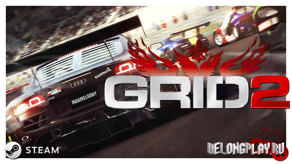 GRID 2 wallpaper logo art
