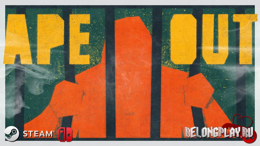 Ape Out логотип wallpaper art smash 'em up